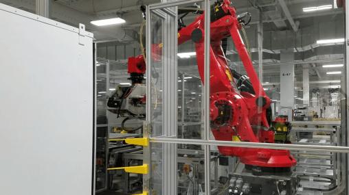 Tesla Gigafactory robot 11