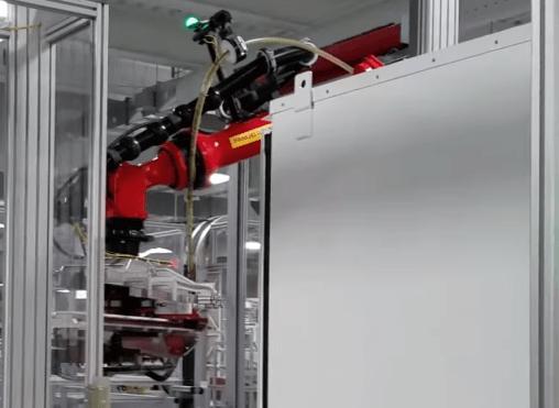 Tesla Gigafactory robot 12