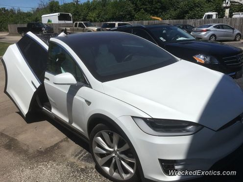 Tesla Model X WreckedExotics 1