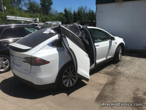 Tesla Model X WreckedExotics 2
