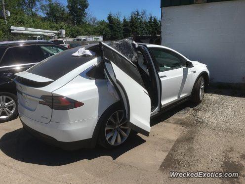 Tesla Model X WreckedExotics 2