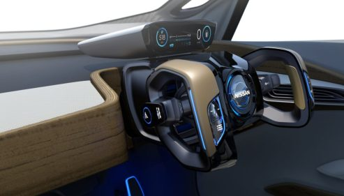 nissan IDS steering concept
