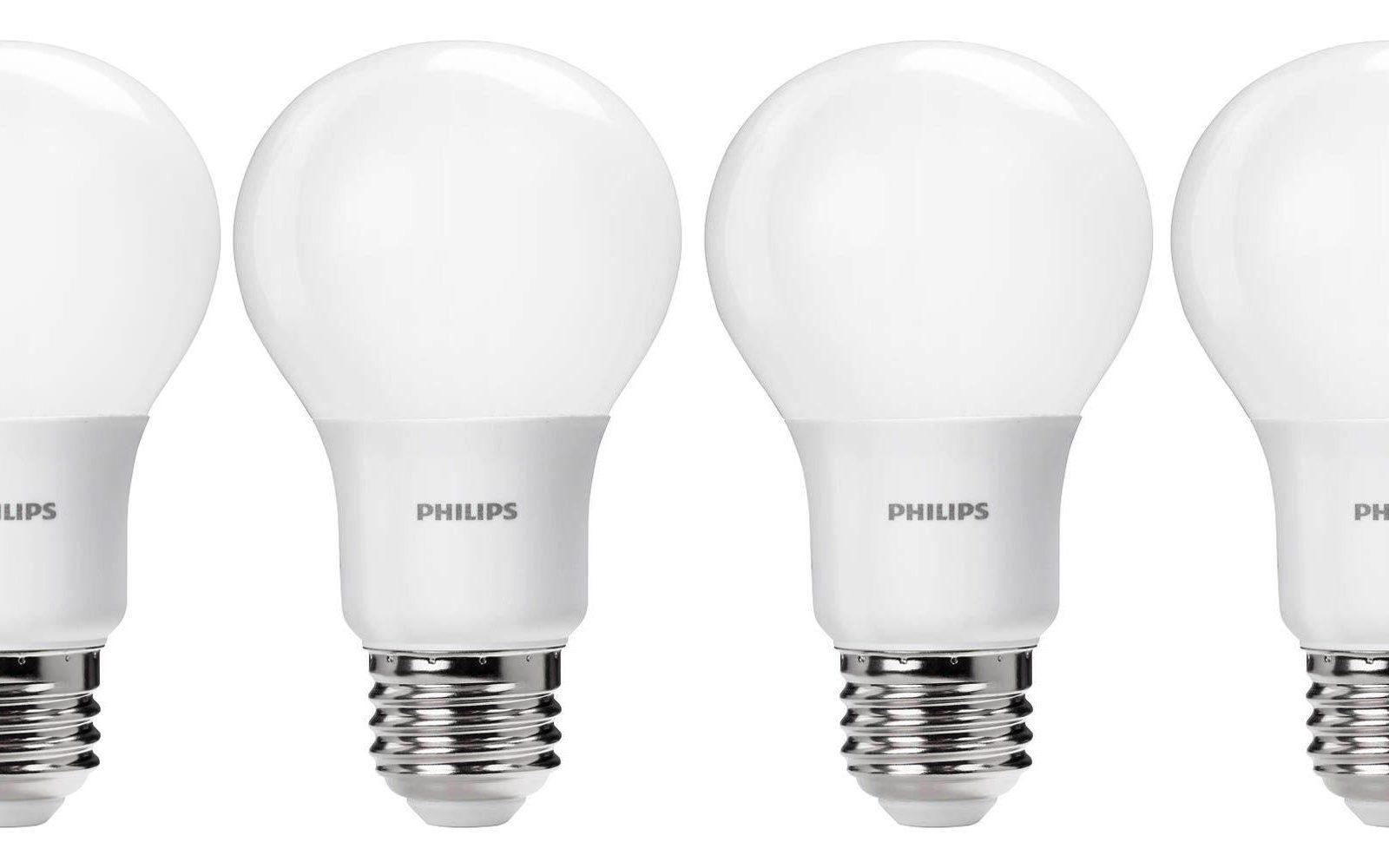 Green Deals: 4-pack Philips 60W A19 Daylight LED Light Bulbs $9 (Reg. $12+), more