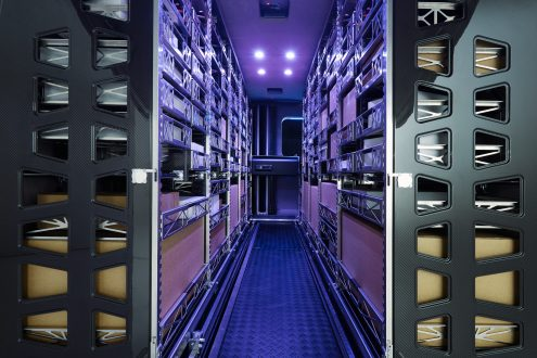 Mercedes-Benz Vision Van – Interior, Intelligent Cargo Space ; Mercedes-Benz Vision Van – Interior, Intelligent Cargo Space;