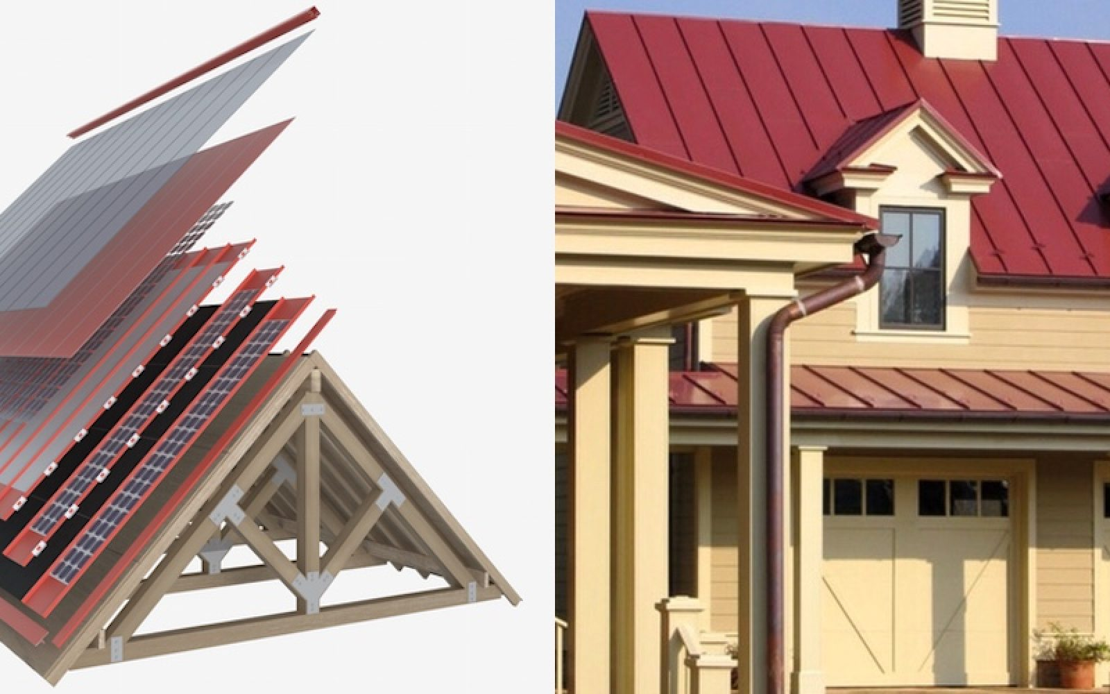 Forward Labs Shows How A Solarcity Tesla Roof Could Look