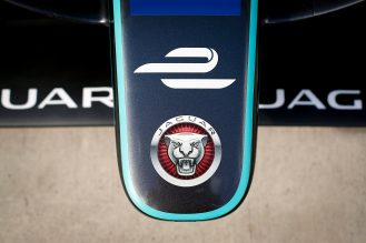 Jaguar Filming Day. Mallory Park Racecourse, Leicester, United Kingdom. Thursday 1 September 2016. Photo: Adam Warner / LAT / Jaguar FE. ref: Digital Image _L5R1429