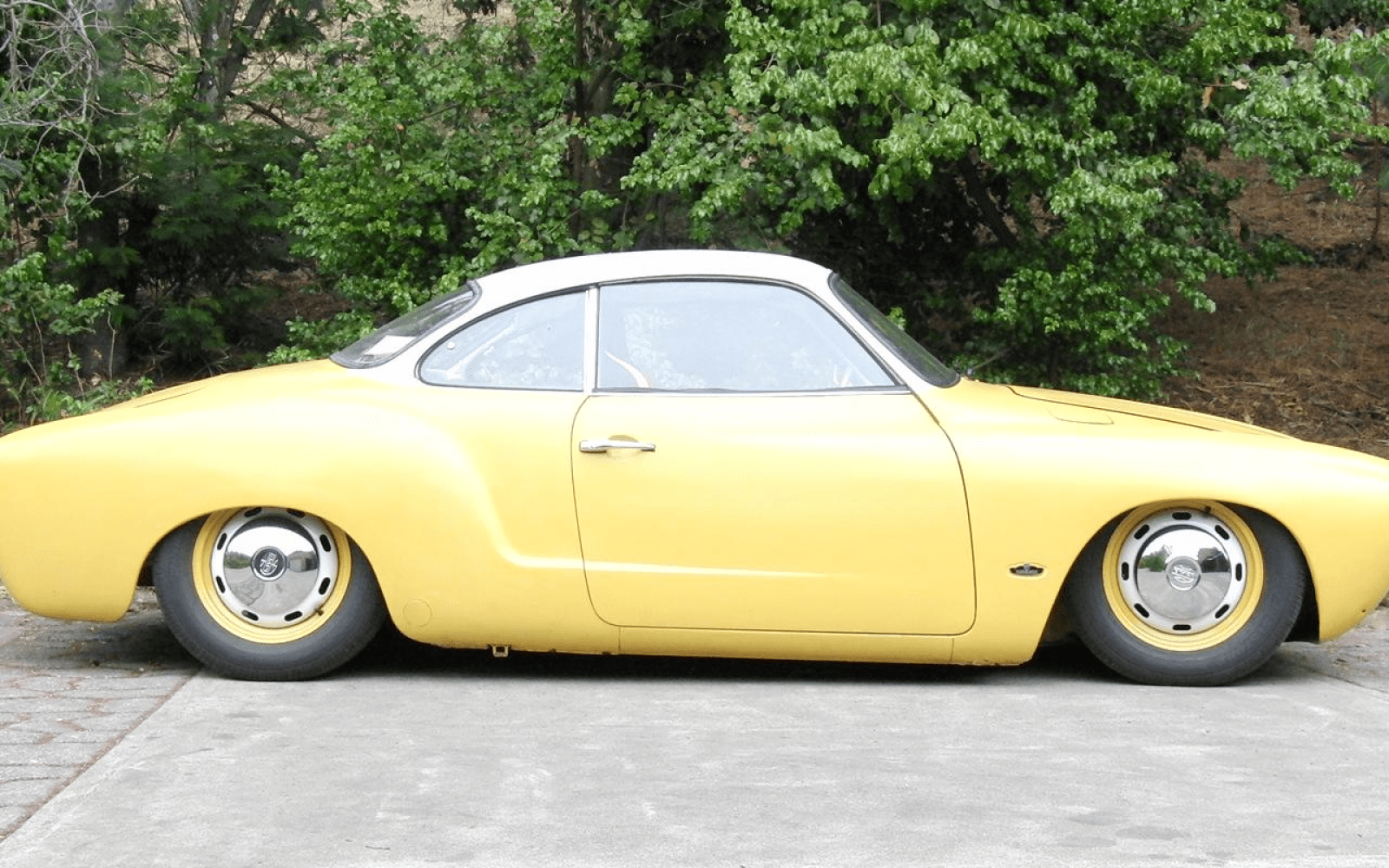 Mechanical engineering student converts a 1969 VW Karmann Ghia into an all-electric classic