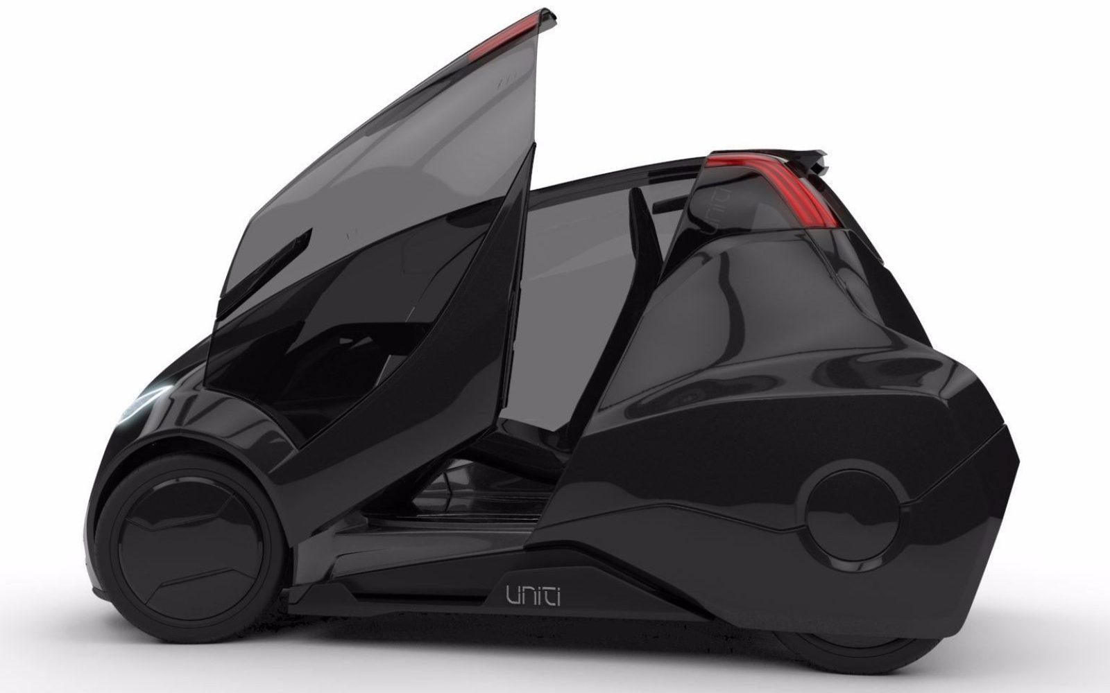 Electric car startup 'Uniti' raises over $1 million through crowdfunding to bring to market their EV concept