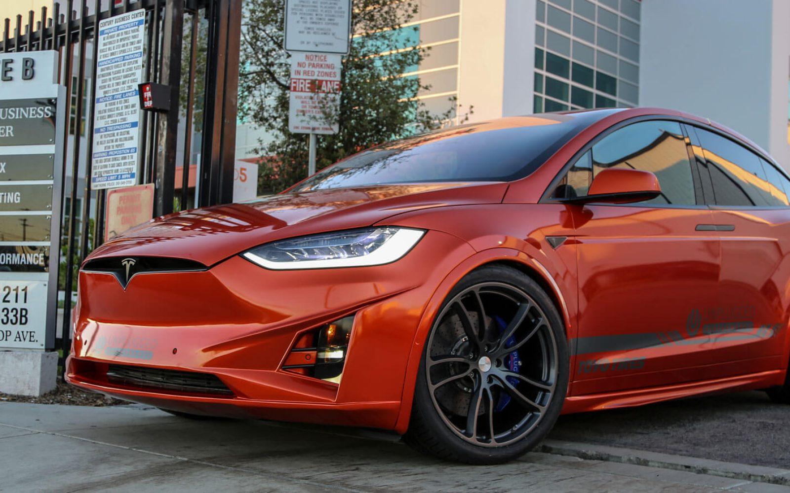 New Unplugged Tesla Model X body kit - Love it or Hate it