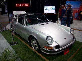 Zelectric Porsche 911 EV conversion