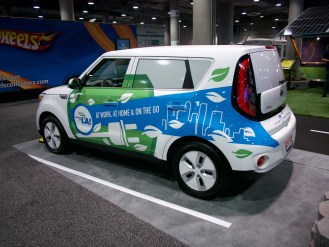 "Kia Soul EV - ""Charge Up LA!"" program"
