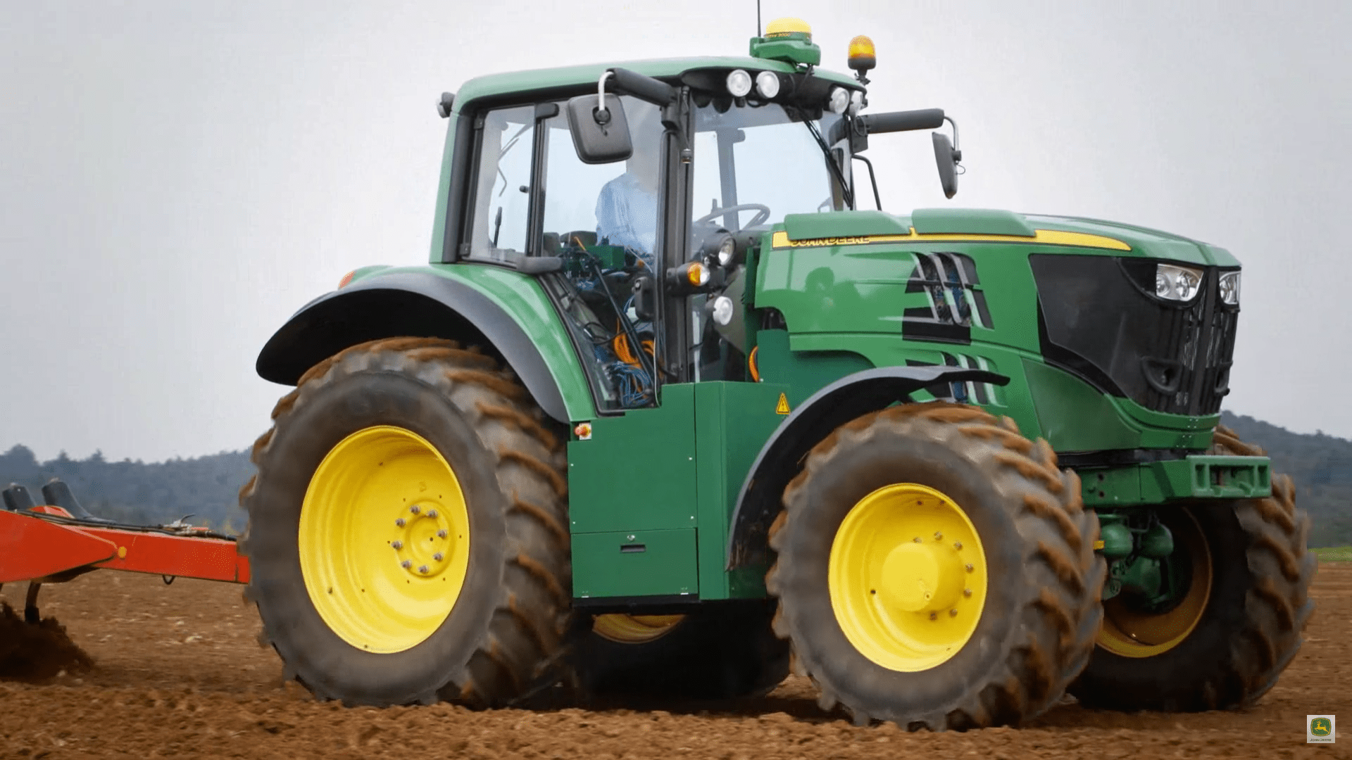 john deere unveils latest all electric tractor prototype for zero emission agriculture electrek. Black Bedroom Furniture Sets. Home Design Ideas