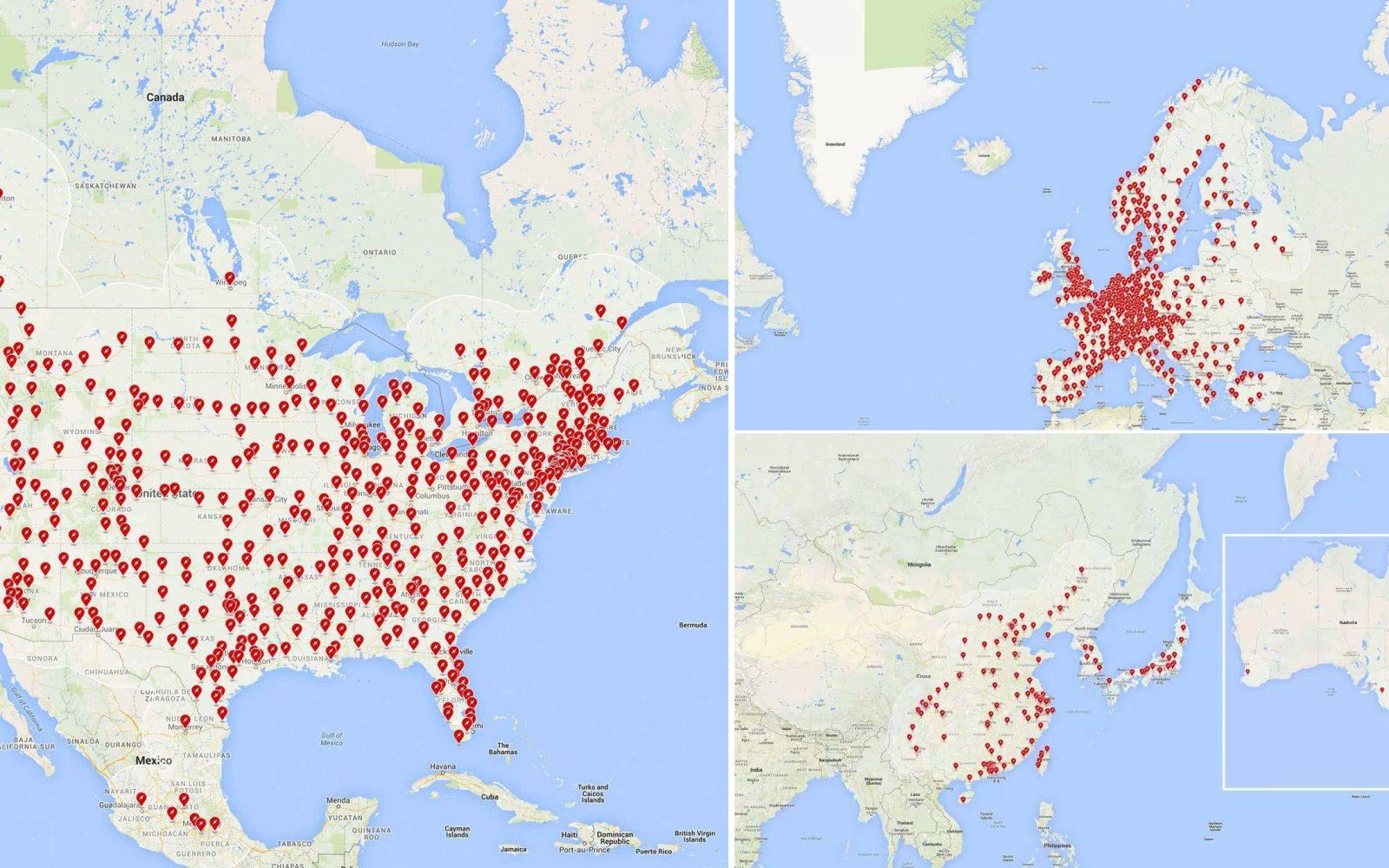 Tesla unveils its 2017 Supercharger network expansion plans - Electrek