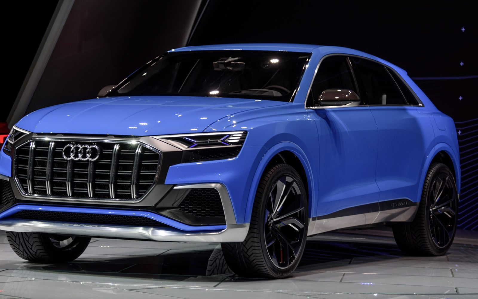 Audi unveils new plug-in electric Q8 SUV ahead of fully ...