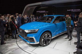 The Audi Q8 concept, 2017 North American International Auto Show.
