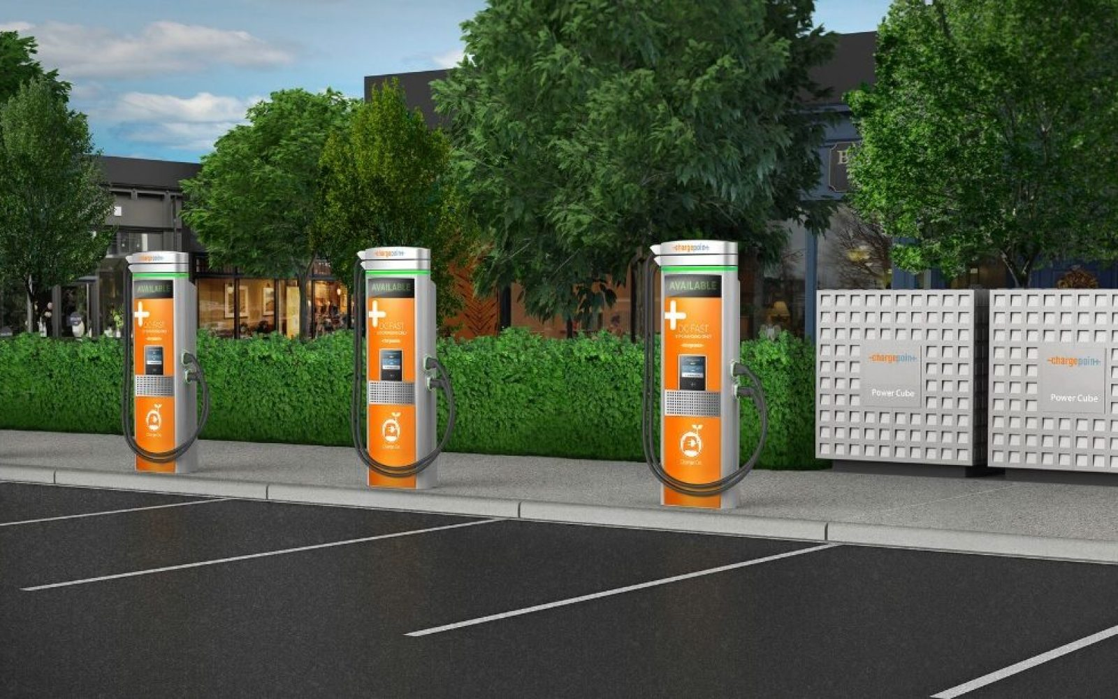 Chargepoint announces 400 kW charging, adds 100 miles of electric vehicle range in less than 15 minutes
