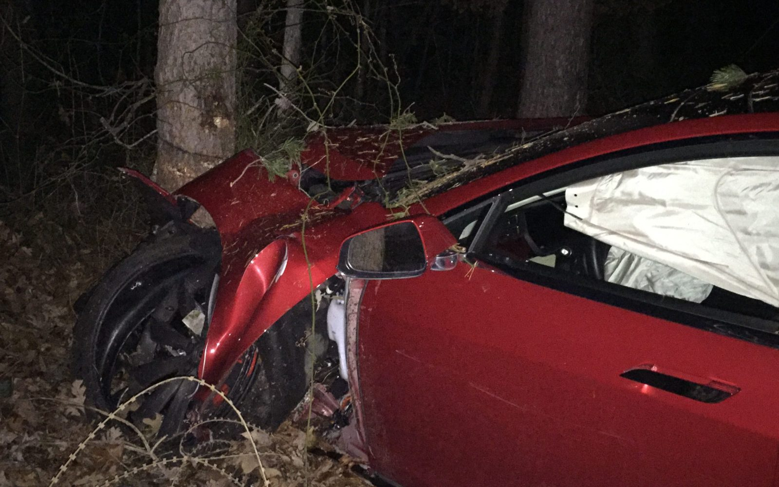 Tesla owner credits Model S' safety features and lack of engine for saving his life in high-speed crash