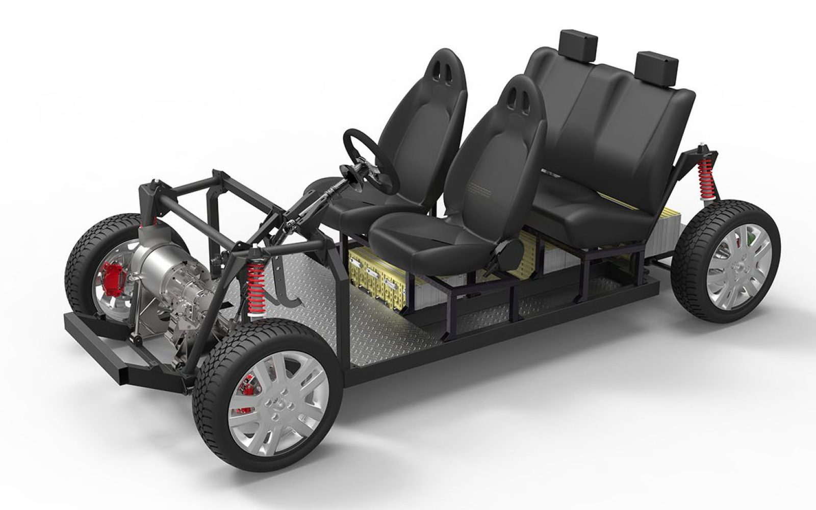 A $12,000 open-source hardware platform to develop electric vehicles