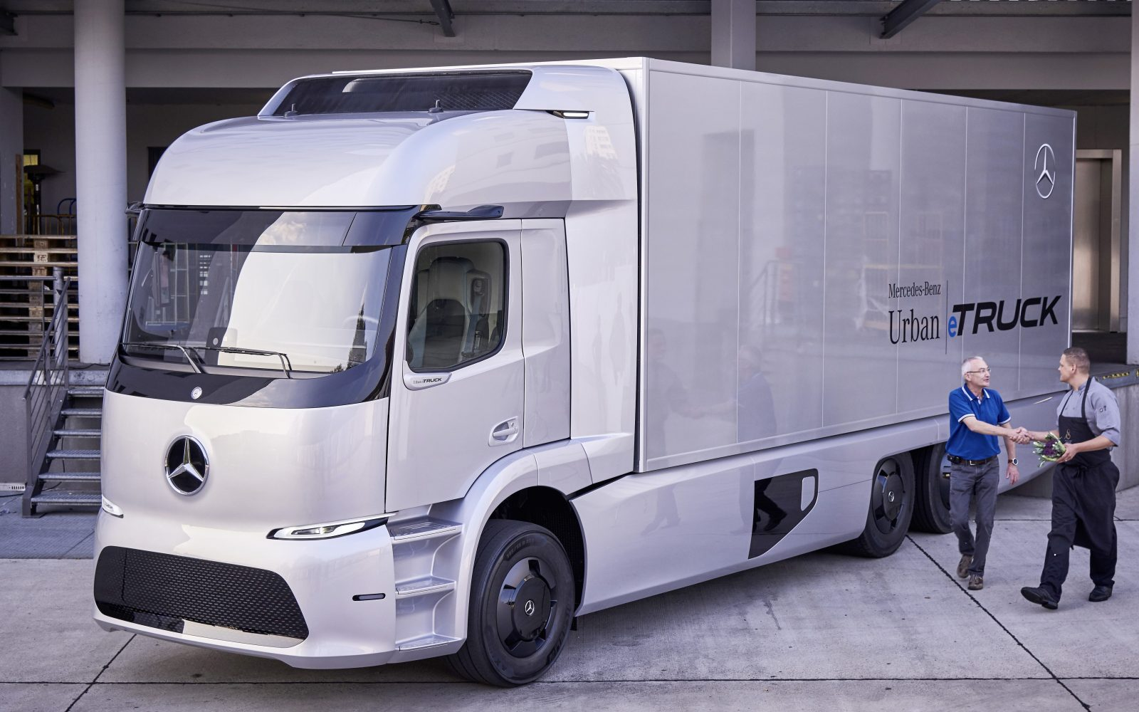 Mercedes-Benz starts 'small series production' of all-electric Urban ...