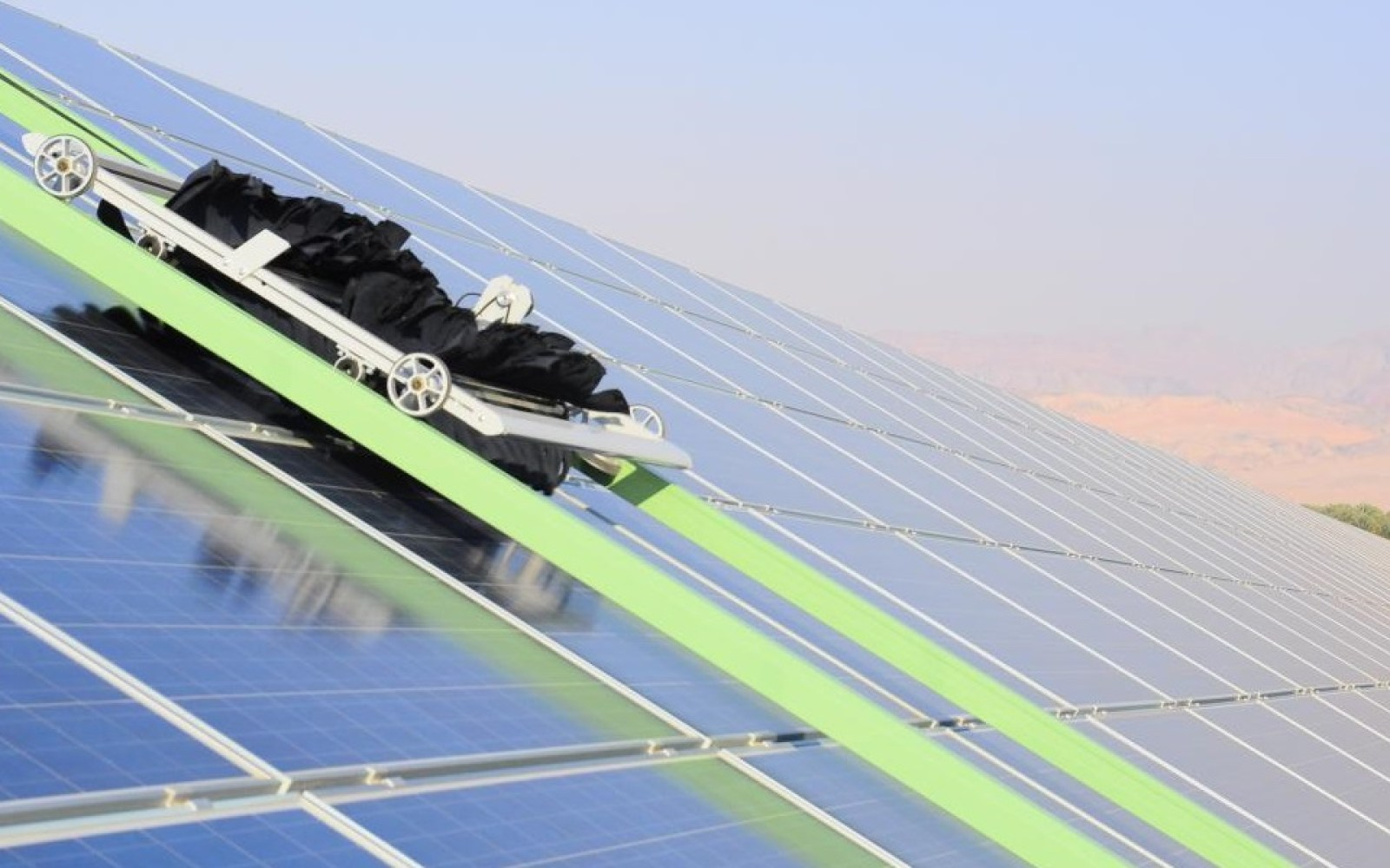Electrek green energy brief: 650MW solar plant construction video, world's largest solar facade, and more