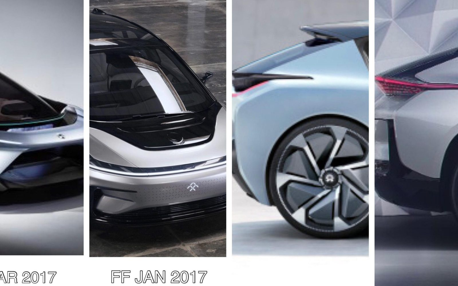 Faraday Future claims NIO copied its design for their new electric concept – what do you think?