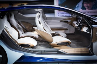 DETROIT (Jan 12, 2016) – The Nissan IDS Concept, Nissan's vision of the future of autonomous driving and zero emission EVs, made its first U.S. appearance at the 2016 North American International Auto Show.