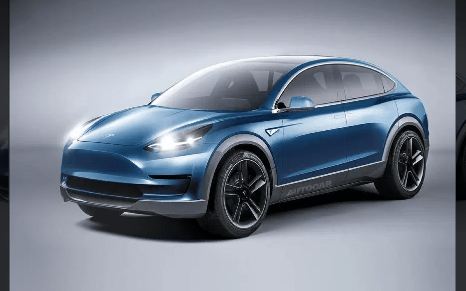 Tesla Model Y unofficial render ahead of launch - Electrek