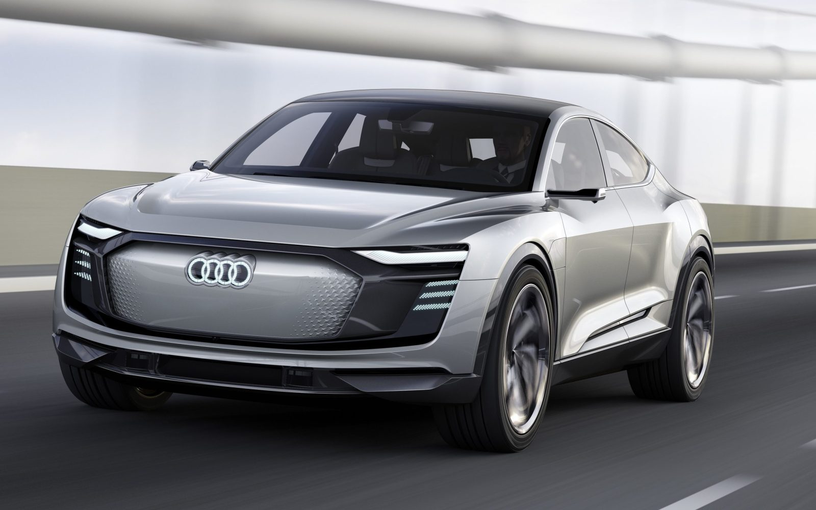 Audi Unveils New E Tron Sportback With 300 Miles Of Range