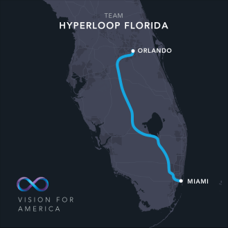 hyperloop US route 1