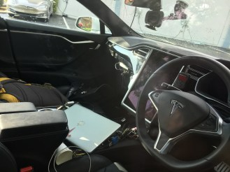 Tesla Model S prototype sunnyvale 8