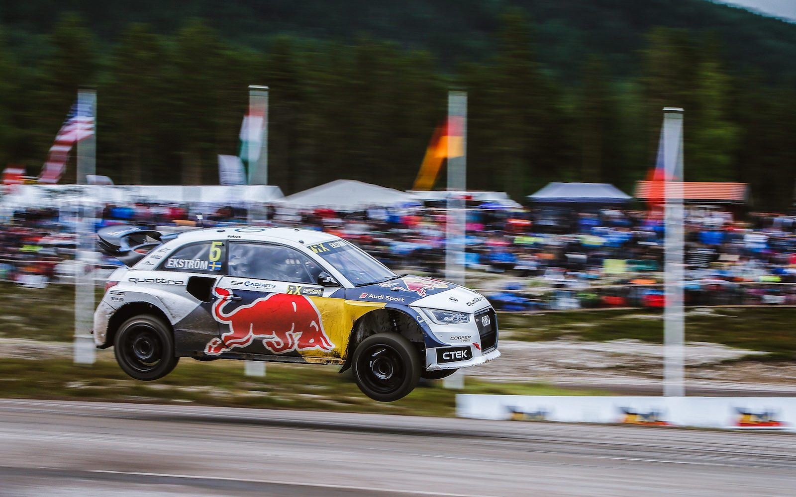 Audi is interested in giving wings to electric rallycross cars ...
