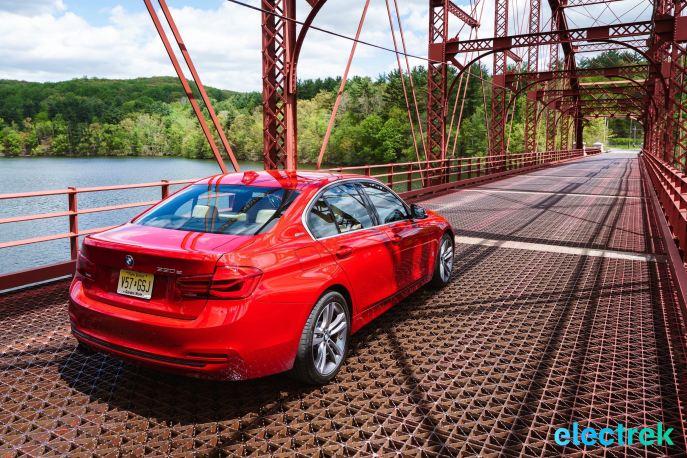 120 Croton Reservoir Pump house Electrek BMW 330e Hybrid 3 series sports sedan review