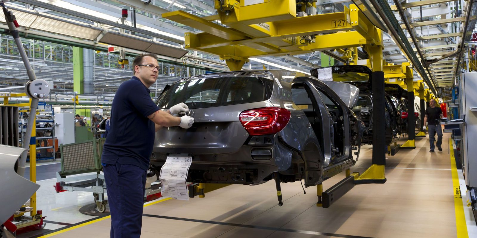 Mercedes Benz Secures Manufacturing Capacity To Produce Compact Electric Vehicles Electrek