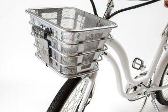 Front basket + lights