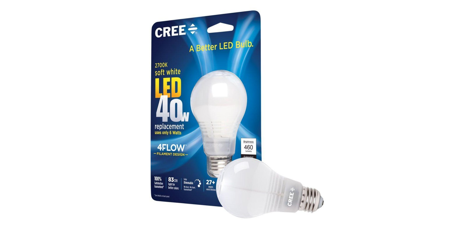 Green Deals: Cree 40W A19 Dimmable LED Light Bulb $1.50, more