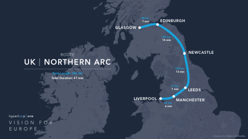 Hyperloop UK-NorthernArc