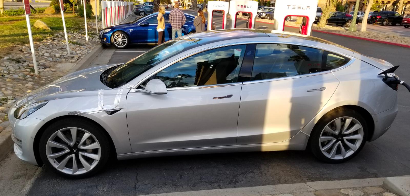 Tesla Model 3: best look so far as Tesla tries to hide steering wheel and screen