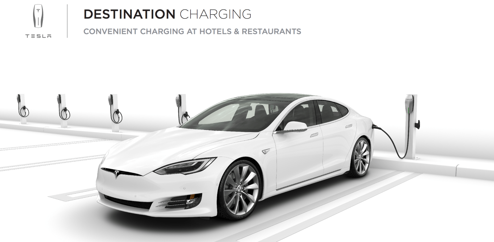 Tesla is paying for the deployment of destination AC ...