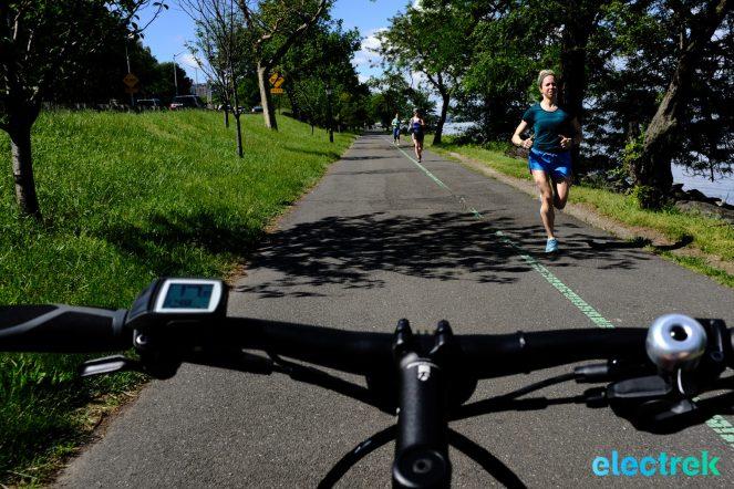 Westside Highway NY Manhattan Trek Super Commuter 8 Electric bike bicycle Electrek-112