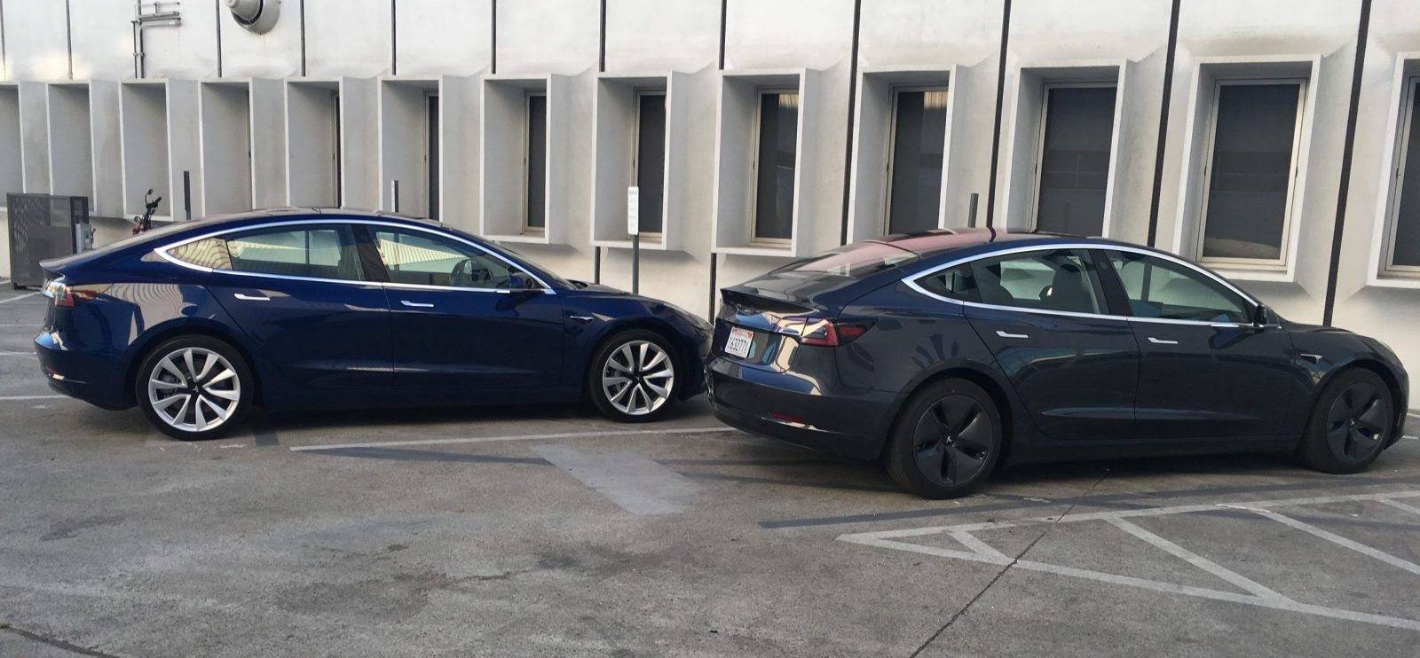 Tesla Model 3 Better Look At New Midnight Silver As More