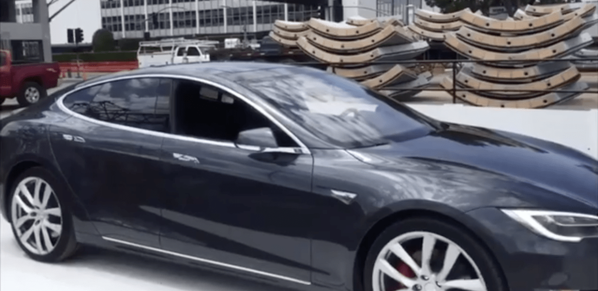 Elon Musk's Boring Company tests new car elevator with a Tesla Model S