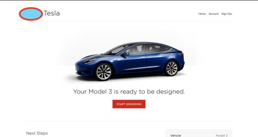 tesla Model 3 config 2