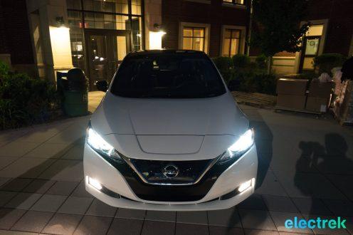 113 dark night front New Nissan Leaf 2018 National Drive Electric Week Bridgewater NJ-71
