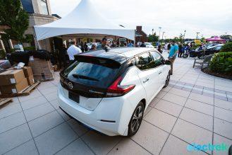 20 New Nissan Leaf 2018 rearview trunk design lights National Drive Electric Week Bridgewater NJ-37