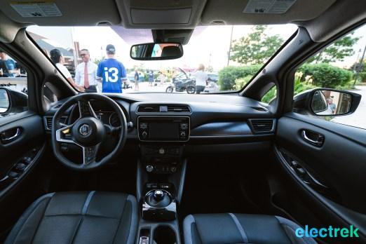 58 New Nissan Leaf dashoboard design interior 2018 National Drive Electric Week Bridgewater NJ-11