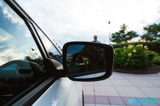 88 sideview mirror design New Nissan Leaf 2018 National Drive Electric Week Bridgewater NJ-45