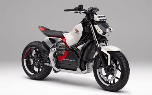 Honda introduces Riding Assist-e self-balancing electric motorcycle