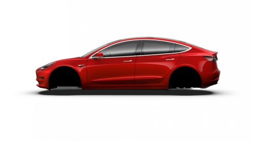 Model 3 Red Multi-Coat 2