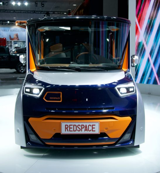 Project Redspace is the most interesting (weirdest) electric car at