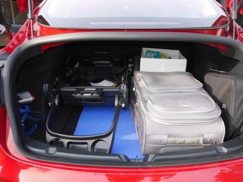 Tesla Model 3 Trunk